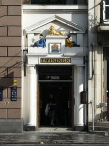 Первый чайный магазин в Лондоне