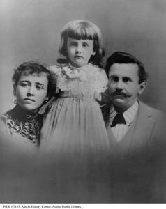 О. Генри с женой Этол и дочкой Маргарет