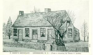 Дом в Гринсборо, где прошло детство О. Генри