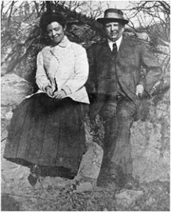 О. Генри и его вторая жена Сара