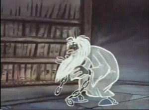 Старые мультфильмы. Кентервильское привидение