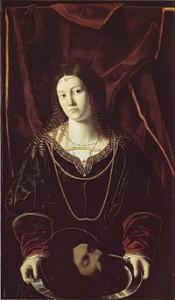 Саломея. Картина Бартоломео Венето