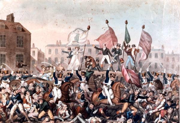 Англия 1819 год