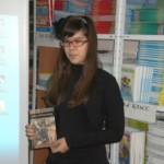 Даша рассказывает о прочитанной книге