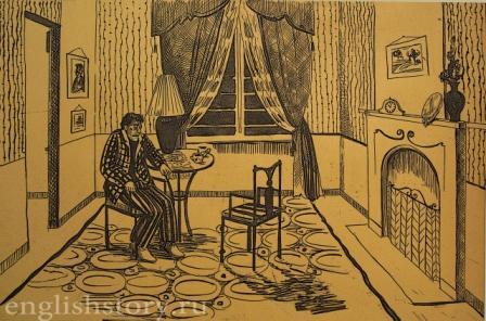 Agatha Christie. Philomel Cottage. Иллюстрация Юлии Миховой