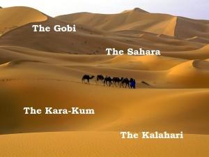 The Sahara Desert - Текст на тему природа