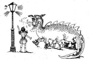 The Useful Dragon (английский язык для детей)
