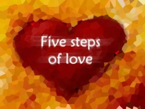 St. Valentine Day: Five Steps of Love