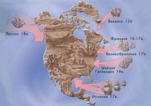 Колонизация Америки в 15-18 веках (кратко)