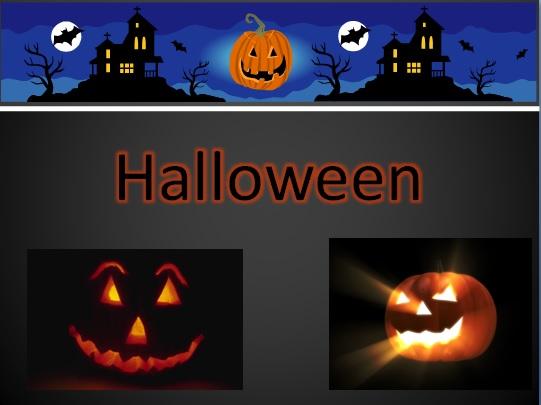 Праздник Хэллоуин Halloween на английском языке