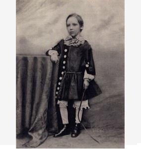Роберт Стивенсон в детстве