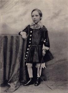 Стивенсон в детстве