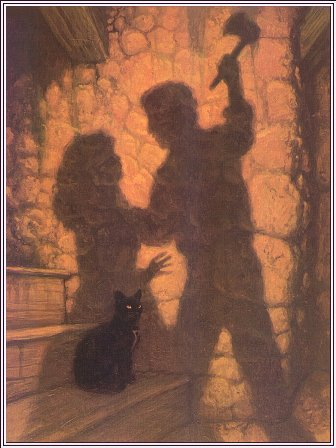 """The Black Cat"" by Edgar Poe for intermediate"