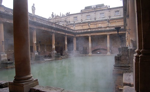 Roman Bath in Sommerset