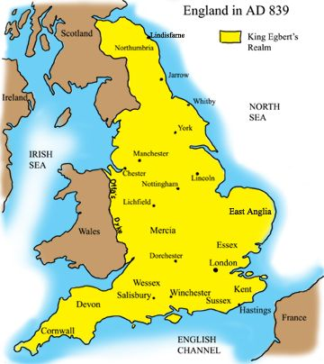 The Anglo-Saxon period in the history of Great Britain