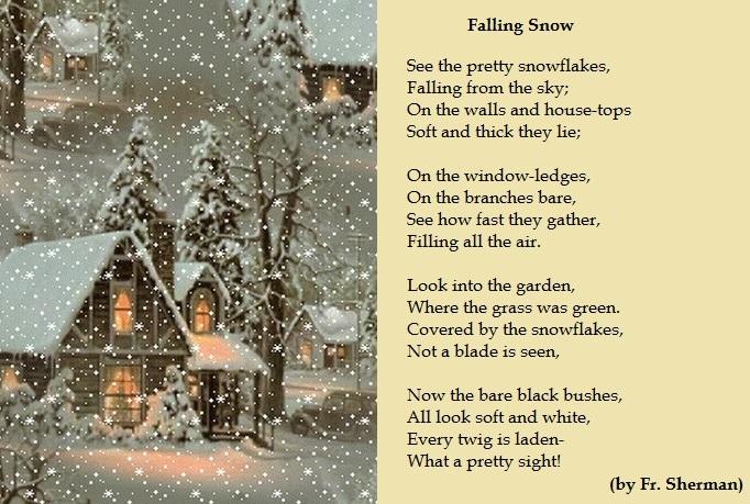 The Falling Snow на английском языке с переводом